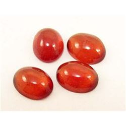 LOT OF 8.34 CTS OF MANDARIN ORANGE AFRICAN GARNETS