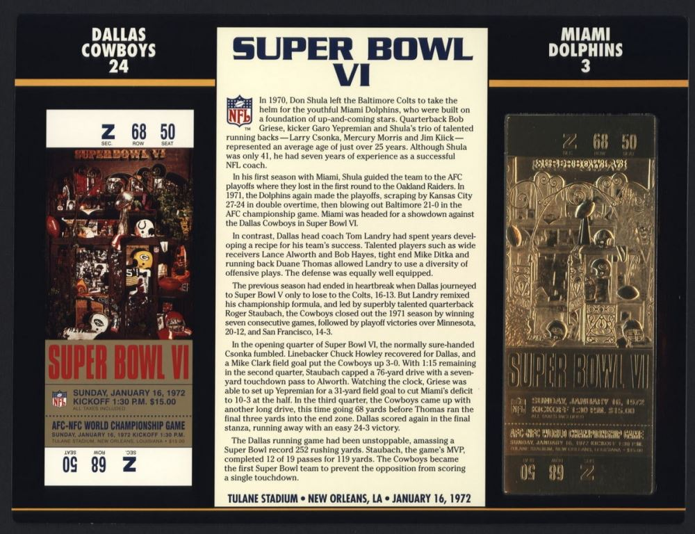 Bowl charger super ticket