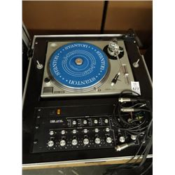 Technics Turntable w/Model1620 Mixing Board - Cond Unknown