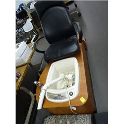 Kaemark Sanijet Pedicure Foot Bath Chair
