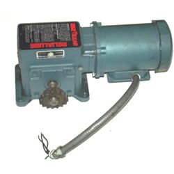 Reliance electric p56h1441t ac motor w mr94650 reducer for Reliance electric motor parts