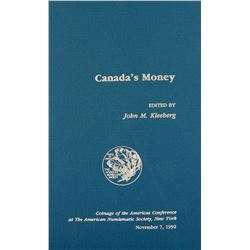 Canada's Money COAC Volume