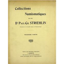 The Stroehlin Collection, Sale III