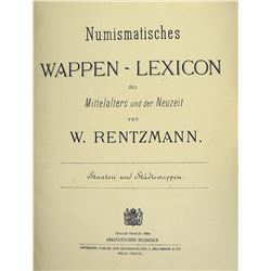 The Plate Atlas for the Rentzmann Lexicon