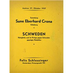 The Sune Eberhard Crona Swedish Coins