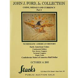 John J. Ford Collection, Part I
