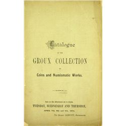 The 1874 Groux Sale