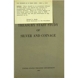 Treasury Department's 1965 Study of Silver & Coinage