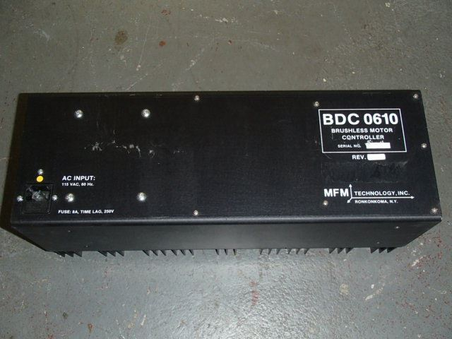 Mfm Technology Bdc 0610 Brushless Motor Controller Btm