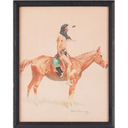 Frederic Remington, chromolithograph