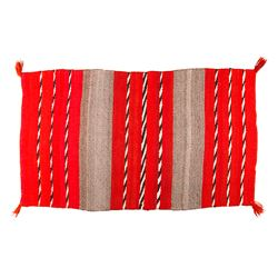 "Navajo Saddle Blanket, 4'7"" x 2'7"""
