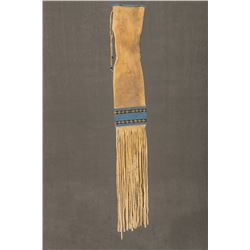"Southern Plains Beaded Pipebag, 34"" long"