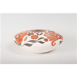 "Acoma Pueblo Seed Jar By Barbara and Joseph Cerno, 5 ½"" x 13 ½"""