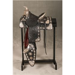 Don Ellis Silver Mounted Saddle Outfit