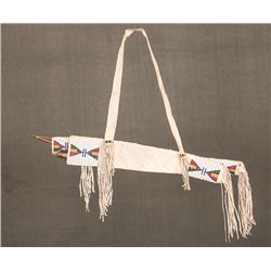 "Sioux Beaded Bowcase and Quiver, 31"" long"