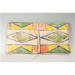 "Crow Painted Parfleche Envelope, 27"" x 13 ½"""