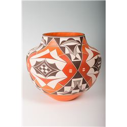 "Acoma Jar by Barbara & Joseph Cerno, 11"" x 12"""