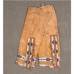 "Cheyenne Beaded Leggings, 18"" long"