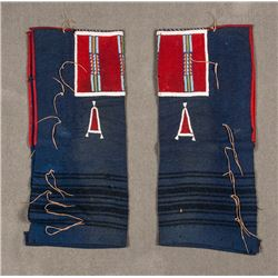 "Crow Man's Panel Style Leggings, 30 ½"" x 13"""