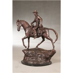 Frederic Remington, bronze