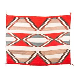"Navajo Transitional Chief's Blanket, 3'8"" x 4'11"""
