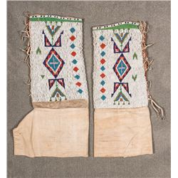 "Northern Plains  Woman's Leggings, 13"" x 15"""