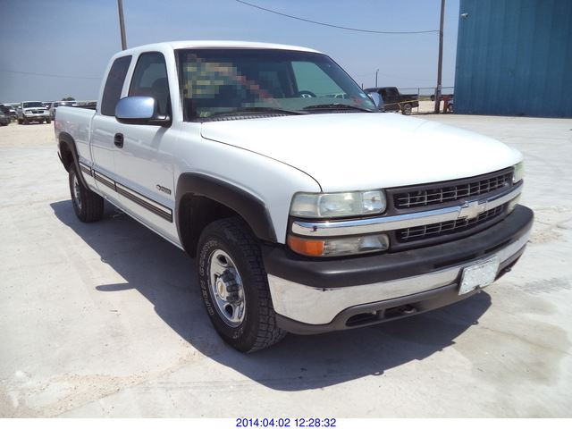 2000 chevrolet silverado 2500 lt ext cab 4 door short bed 2wd. Black Bedroom Furniture Sets. Home Design Ideas