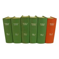 Bound Volumes of World Coins