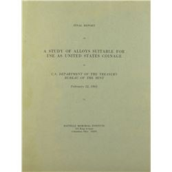 The 1965 Battelle Report on U.S. Coinage
