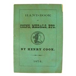 Henry Cook's Very Scarce 1874 Hand-Book of Coins