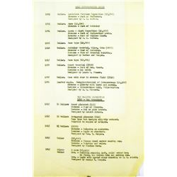 Tax Inventory of the Eliasberg Collection, October 1965