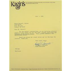 Page Proof Copies of Kagin on Private Gold