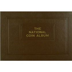 Small-Size Raymond National Coin Album for Half Dollars