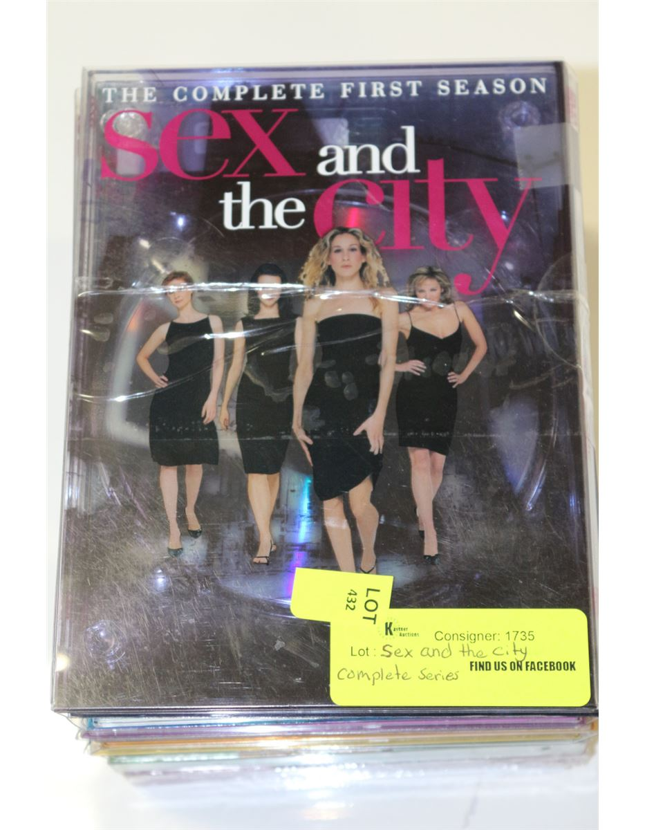 Sex And The City Complete Dvd Set 14