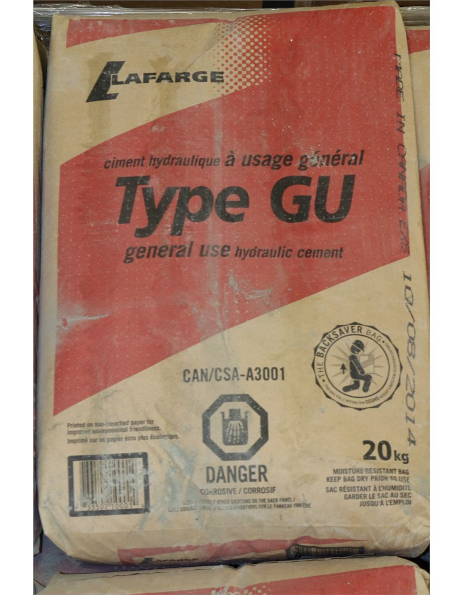 Type V Cement : Kgbag of type gu hydraulic cement