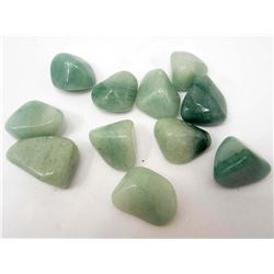 LOT OF APPROX. 1,133.0 CTS OF GREEN AVENTURINE GEMSTONES