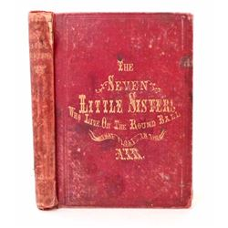 """1860 """"THE SEVEN LITTLE SISTERS WHO LIVE ON THE ROUND BALL THAT BOATS IN THE AIR"""""""