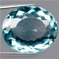 38.77 CT BLUE AFRICAN QUARTZ