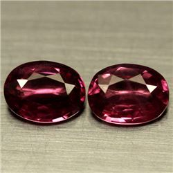 LOT OF 2.62 CT PINK AFRICAN RHODOLITE GARNET