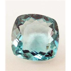 24.40 CT AQUAMARINE AFRICAN QUARTZ