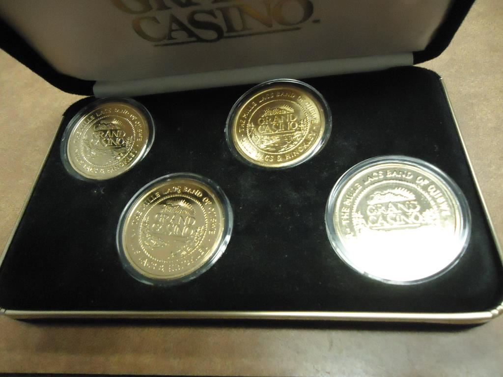 Grand casino collector coin gambling banker