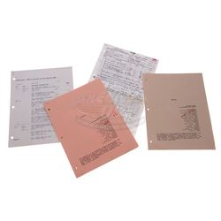 Back To The Future 2 - Production Paperwork - 17681
