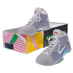 Back To The Future 2 - Rare Nike HyperDunk (Marty McFly Inspired) Shoes - 17837