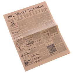 Back To The Future 3 - 1885 Hill Valley Telegraph Newspaper - 18248