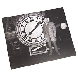 Back To The Future 3 - Doc & Clock Photograph - 17661
