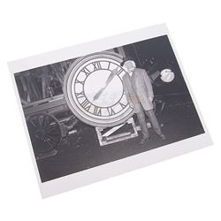 Back To The Future 3 - Doc & Clock Photograph - 17942