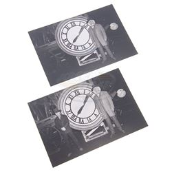 Back To The Future 3 - Doc & Marty Clock Photographs - 17933