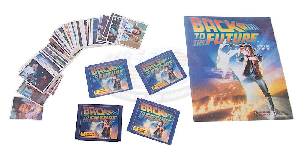 Image 1 back to the future rare panini sticker album complete set of