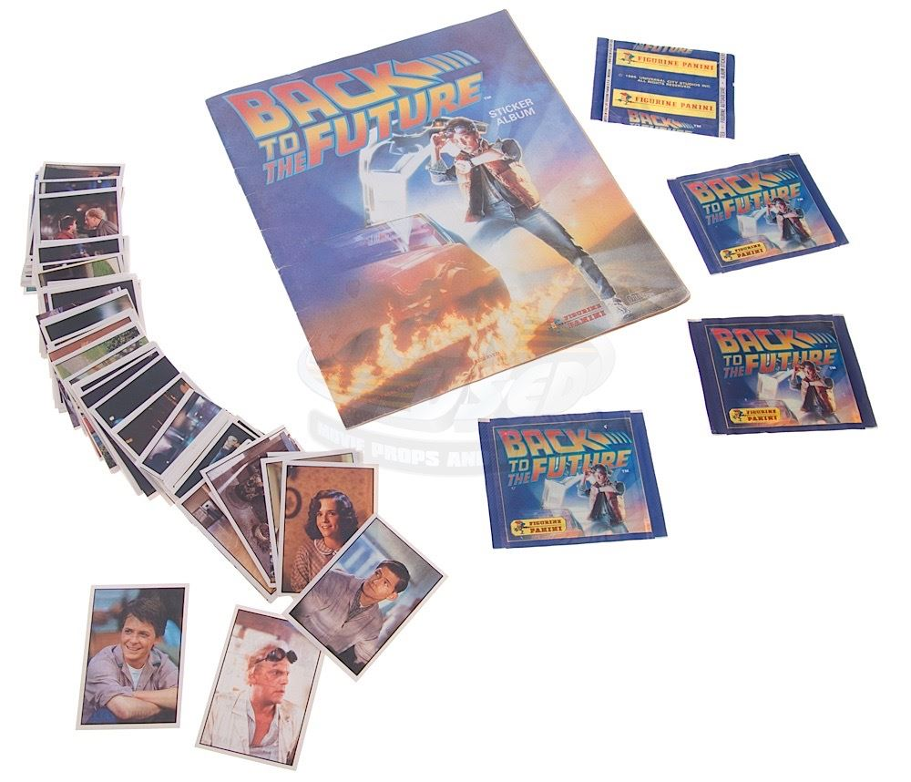 back to the future rare panini sticker album stickers. Black Bedroom Furniture Sets. Home Design Ideas