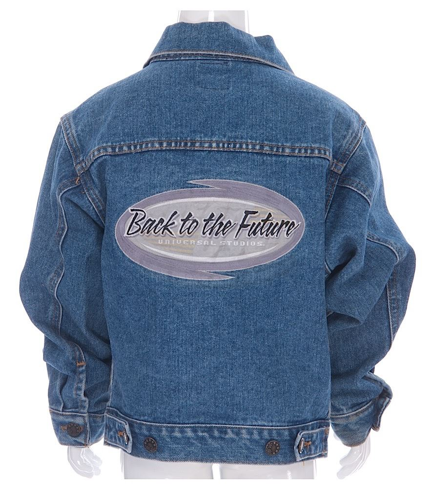 Back To The Future Ride - Logo Jean Jacket - 18057